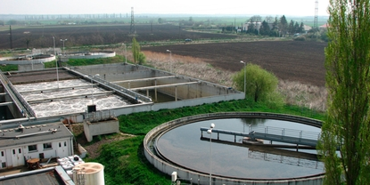 Smart scale energy solutions for waste water treatment