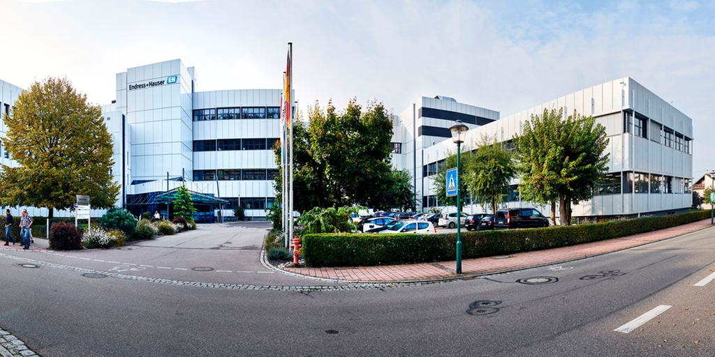 Endress+Hauser Maulburg, main building